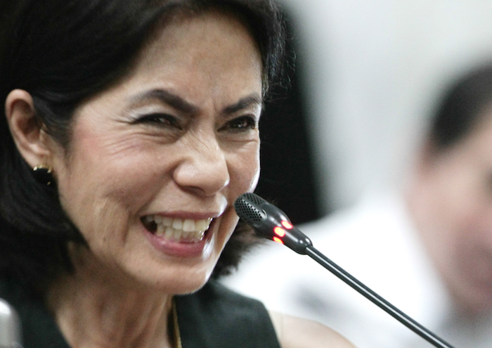 Gina Lopez (Source: Rappler. Photo by Jasmin Dulay)