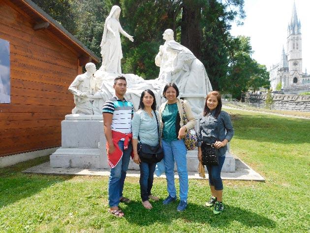Romnick Lumabi, Imelda Orizal Lumabi, Angelina Flores Leal, and Hazel Puyao Lumabi.