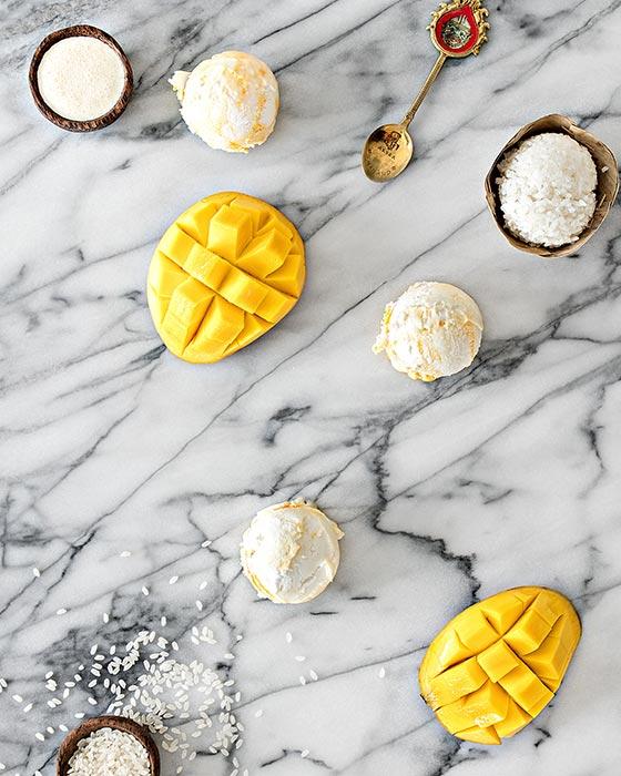 Mango Sticky Rice (Photo courtesy of Wanderlust Creamery)