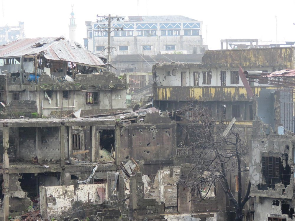 Marawi in ruins (Photo by Criselda Yabes)