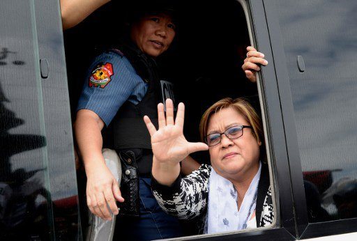 Senator Leila De Lima (Source: Inquirer.net)
