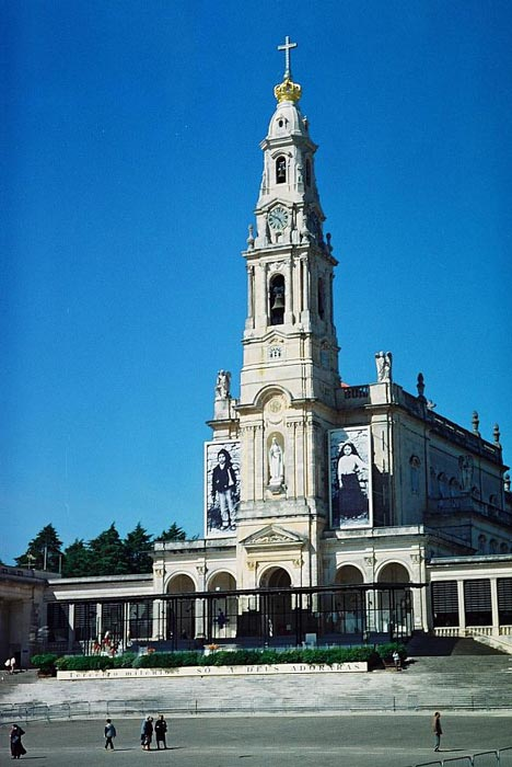 The Sanctuary of Our Lady of Fátima (Source: Wikipedia)