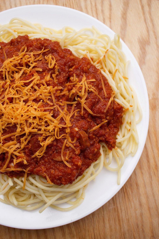Vegan Filipino Spaghetti (Photo by Astig Vegan)