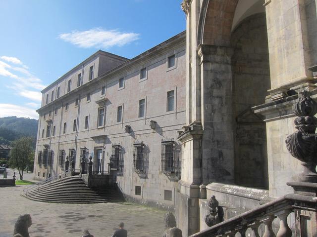 Loyola on Day 12.  The castle where St. Ignatius de Loyola was born.