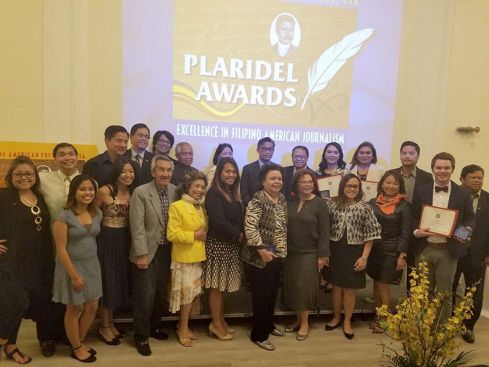 The Philippine American Press Club USA's 2017 Plaridel Awards (Photo by Raymond Virata)