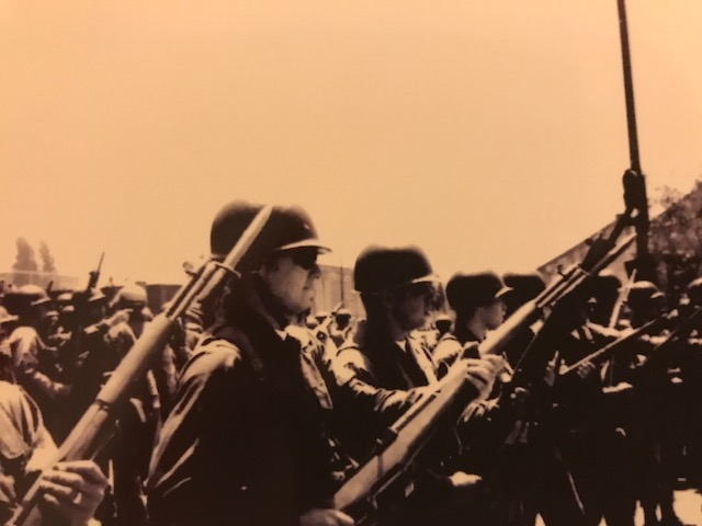 National Guard were regulars on UC Berkeley campus during those days.