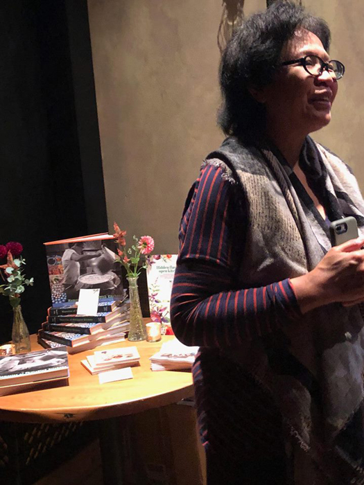 Amy Besa, food scholar, author and restaurateur stressed the local ingredients carry the soil, water and the air of the Philippines which enhances the flavors. (Photo courtesy of Elizabeth Ann Quirino & Elpidio P. Quirino)