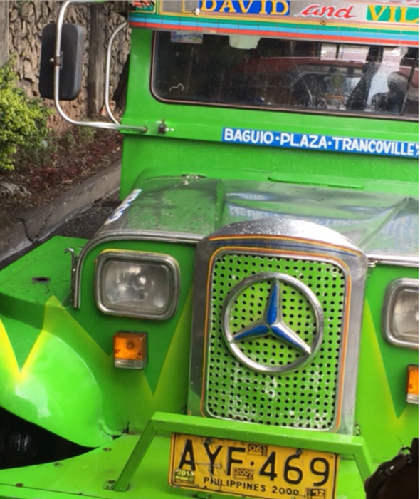 The classic jeepney (Photo by Rene Astudillo)