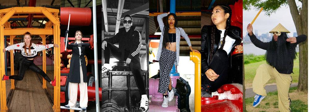 Android,Agatron,Missy Soo Boogaloo,Angyil McNeal,Karma Kana, Mis Little (Photos by Devon de Leña