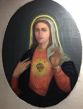 Sacred Heart of Mary  restored