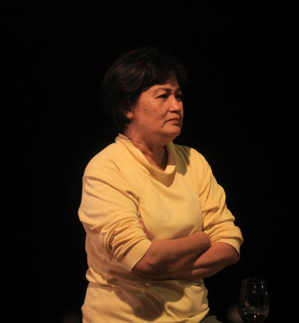 Batanes Congresswoman Henedina Razon-Abad in December 2013. She died on October 8, 2017, at age 62.