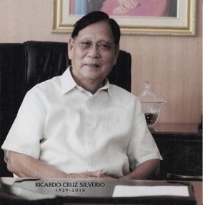 Ricardo Cruz Silverio, in his official portrait as a Congressman.