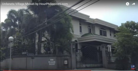 A screen-grab of the original, legal residence of the Silverios with Mrs. Beatriz Sison Silverio as the chatelaine of 21 Cruzada St., Urdaneta Village, Makati City.