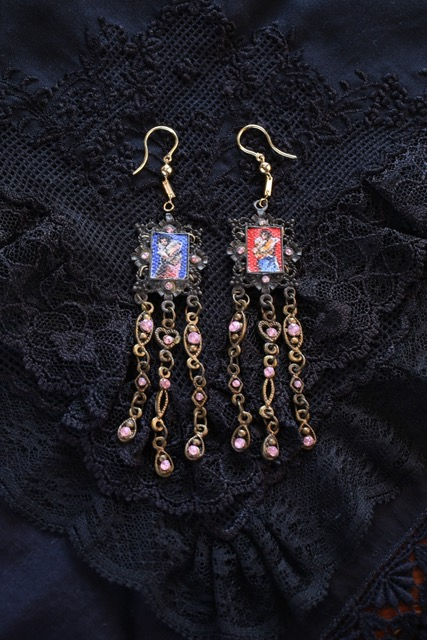 'Sabel' earrings (Photo courtesy of the BenCab Art Foundation)