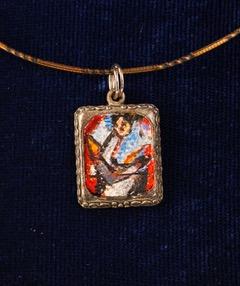 'Sabel' pendant (Photo courtesy of the BenCab Art Foundation)