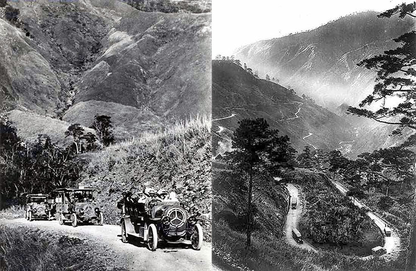 Old Kennon Road (Courtesy American Historical Collection, Ateneo de Manila University)