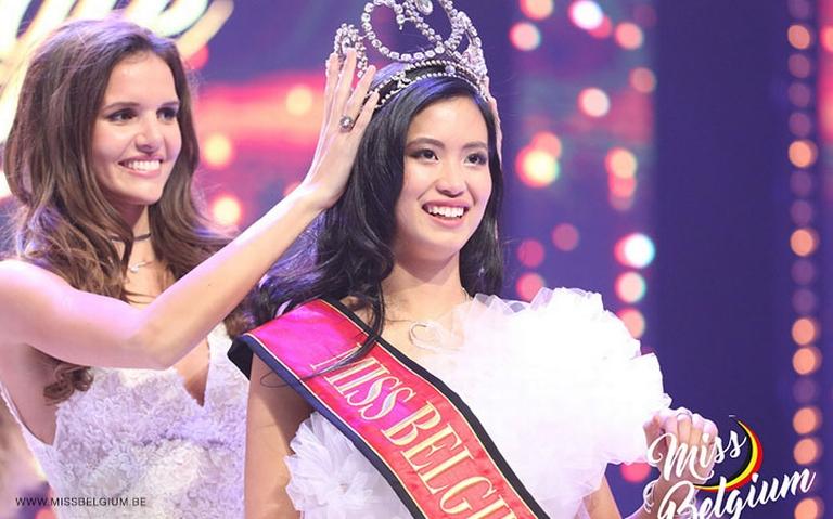 Miss Belgium Angeline Flor Pua