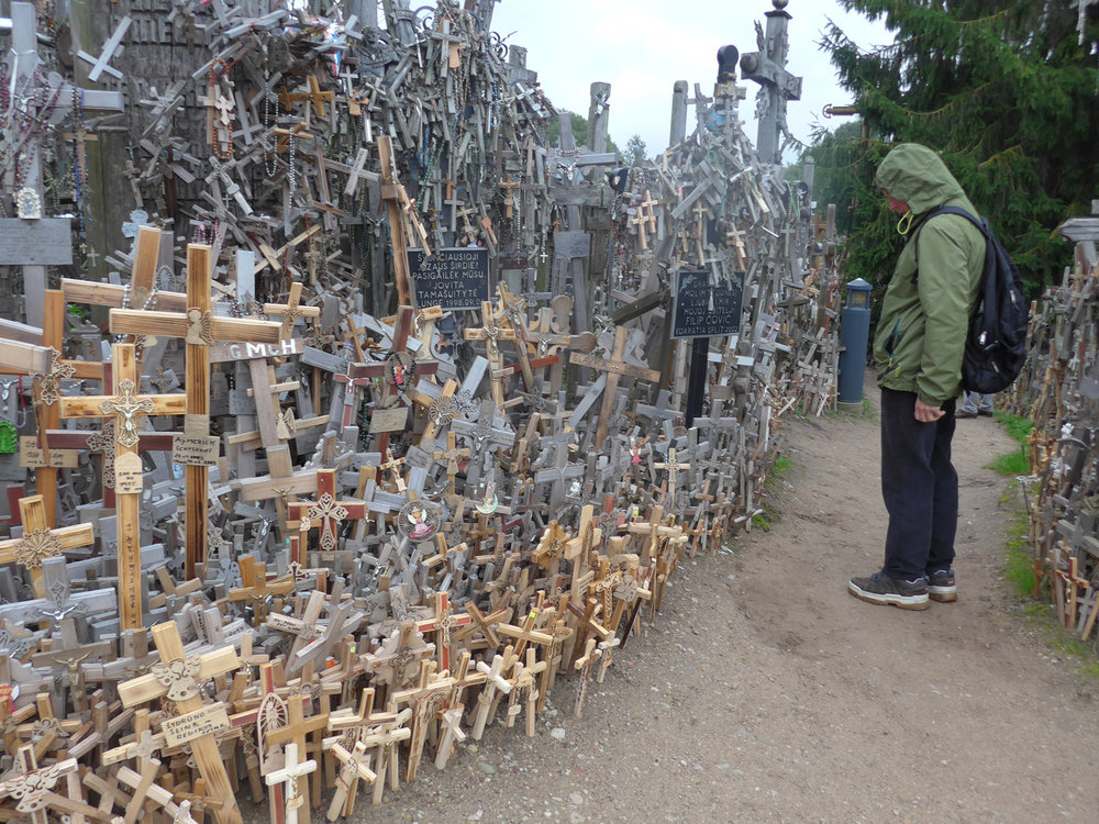The Hill of Crosses (Photo by Ofeila Gelvezon-Tequi)