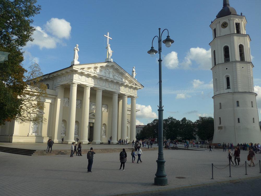 The Vilnius Cathedral (Photo by Ofelia Gelvezon-Tequi)