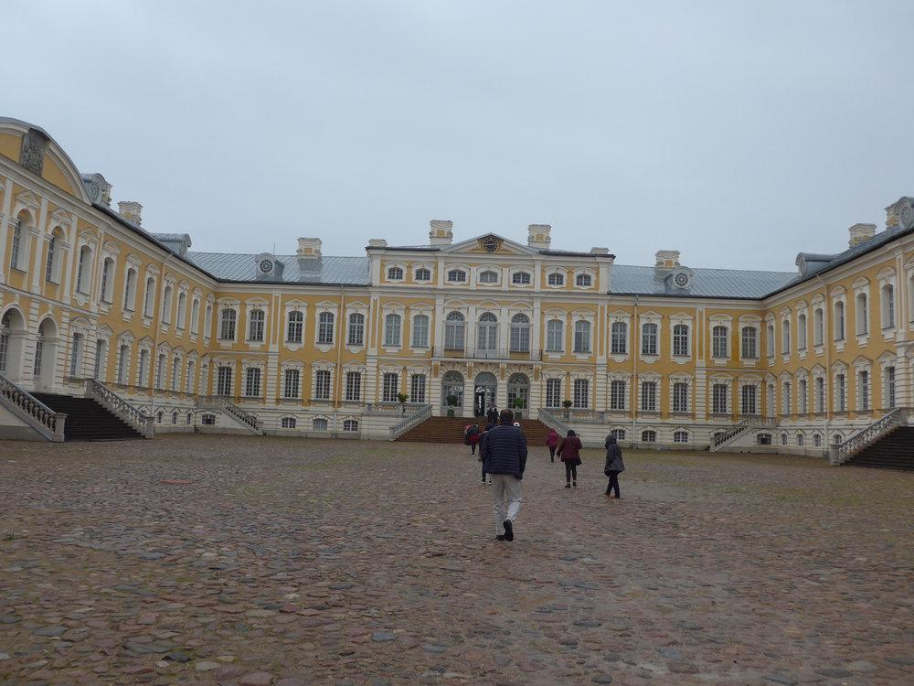 Runsdale Palace in Latvia (Photo by Ofelia Gelvezon-Tequi)