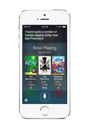 Apple's iPhone with Siri