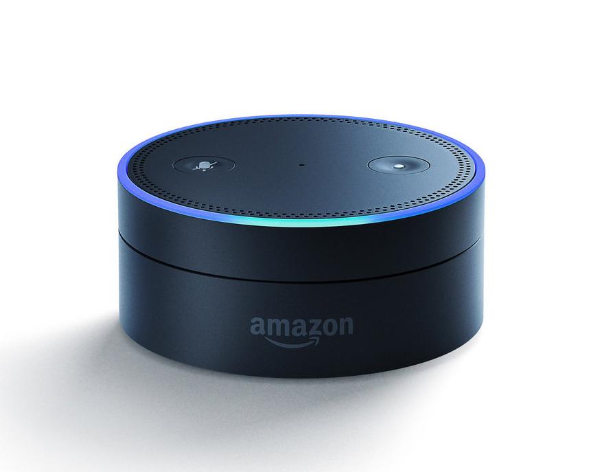Amazon's Echo Dot with Alexa