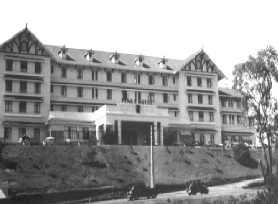 The old Pines Hotel (Source: Pinterest)