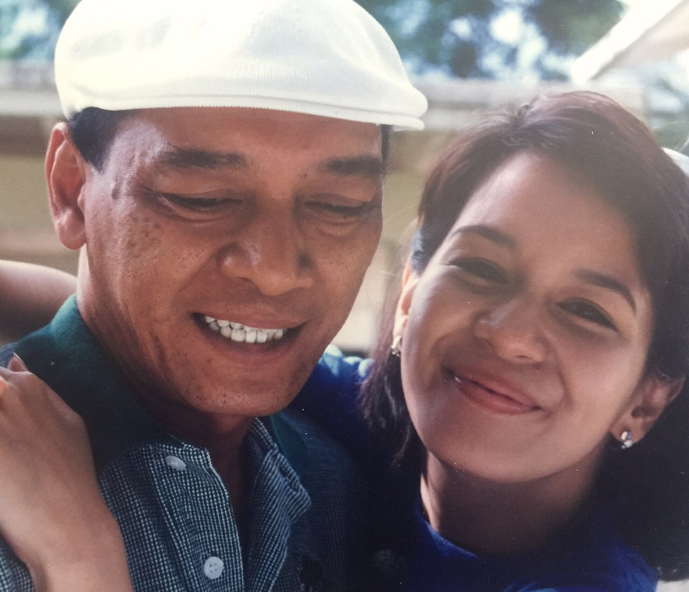 Naldi Castro and daughter Liezl
