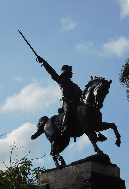 Ignacio Agramonte drafted the first Cuban constitution in 1869 (Photo by Gia Mendoza)