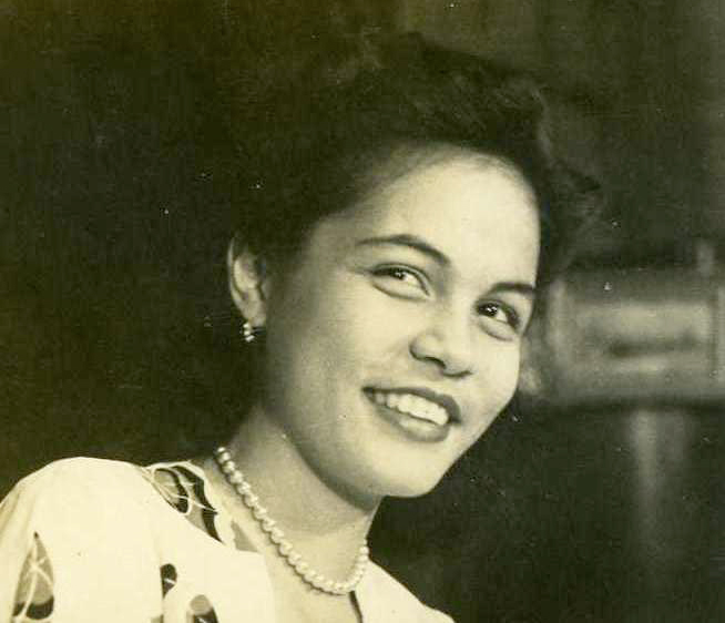 Young Armida Siguion-Reyna (Photo courtesy of the Siguion-Reyna family)