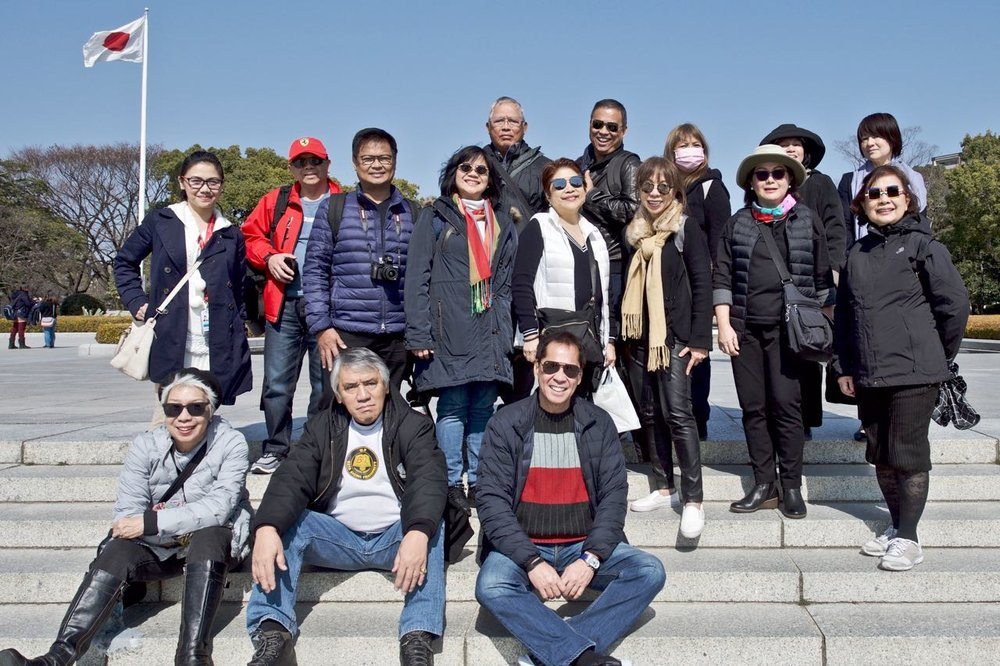 Sandy Daza's 4th Foodie Tour at the Hiroshima Peace Memorial Stadium (Photo by Rick Rey)