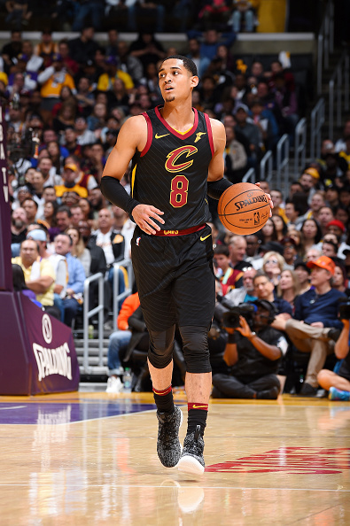 Clarkson playing again at the Staples Center in Los Angeles (Photo courtesy of the Cleveland Cavaliers)