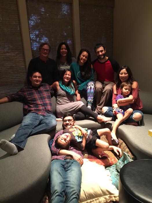 Monica's family