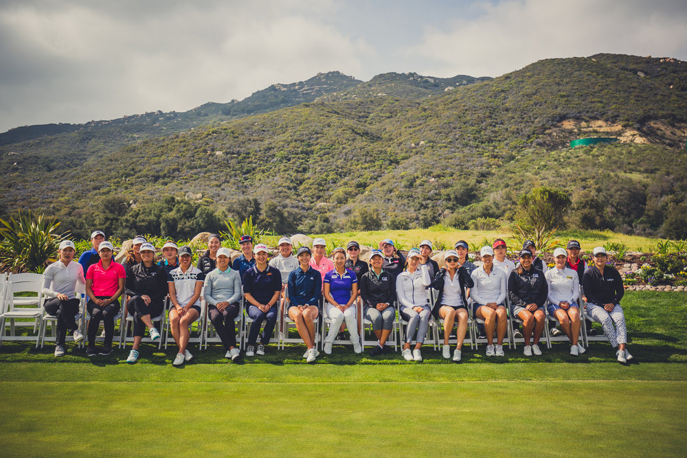 The 29 LPGA golfers at Pechanga Resort Casino