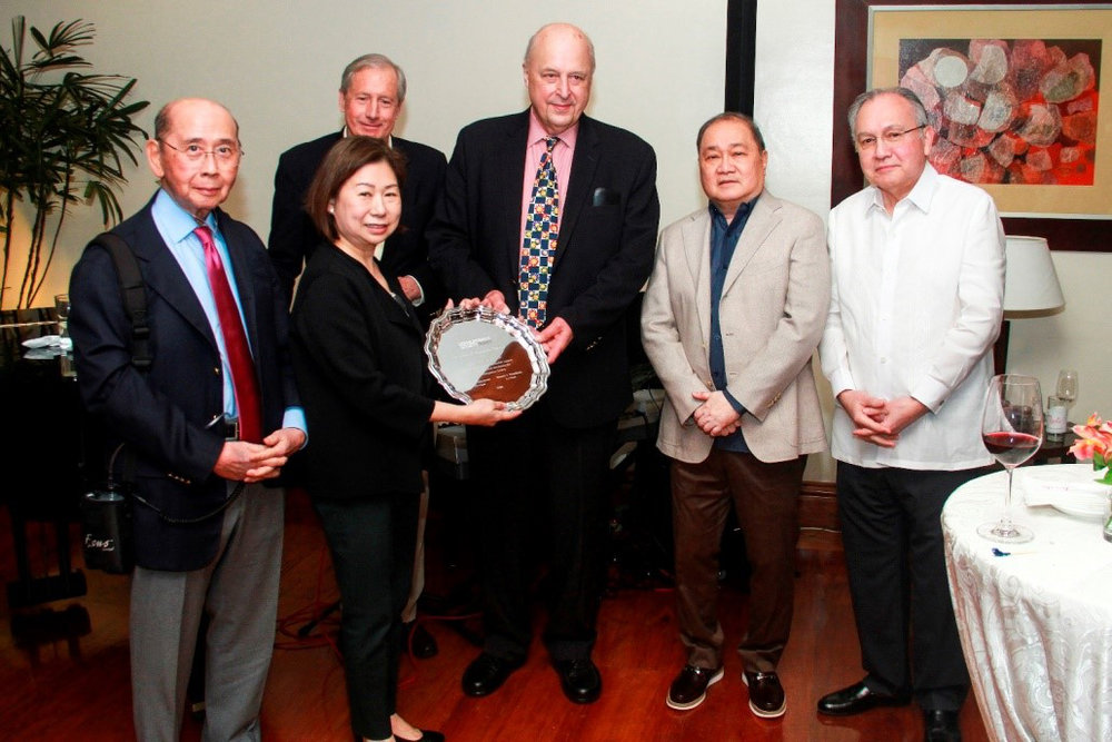 Carlos P Romulo Award Presented to Tessie Sy-Coson, February 2018