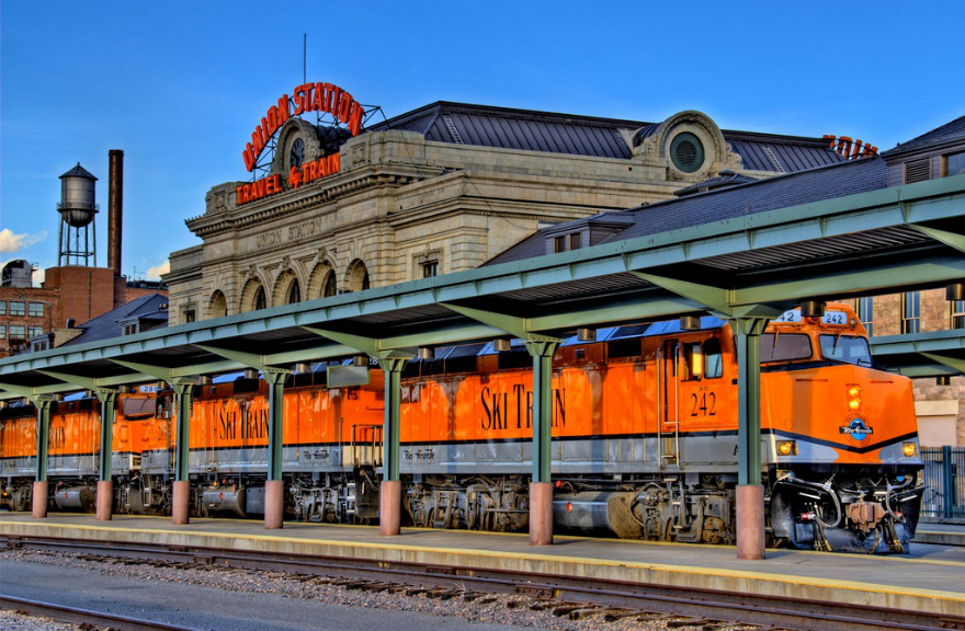 Union Station in Denver, fateful stop for the author, who went on a Mission of Marijuana.