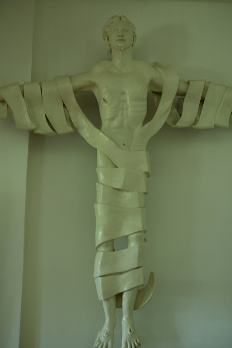 Abueva's prototype Risen Christ sculpture