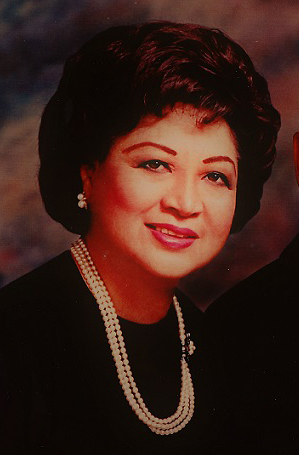 My mother, Dr. Lydia Molina-Garcia (1920-2010). (Photo, taken 1992, from author's collection.)