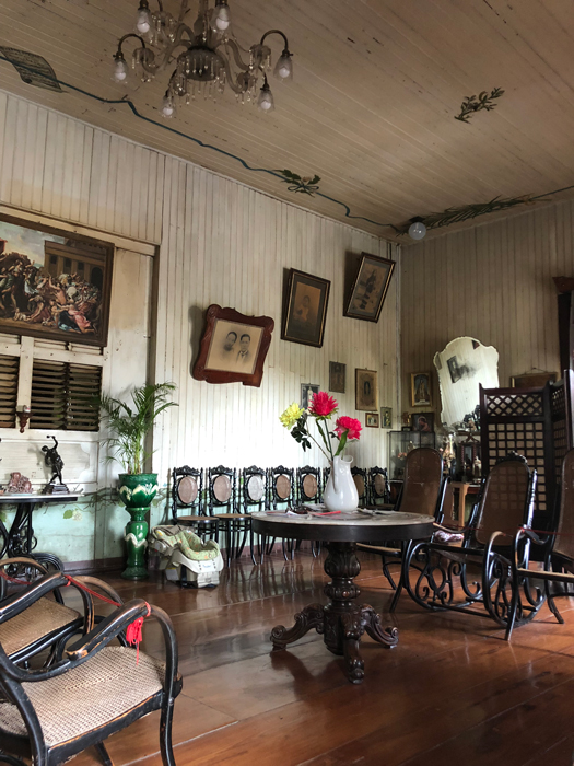 Inside the Quema House (Photo by Criselda Yabes)
