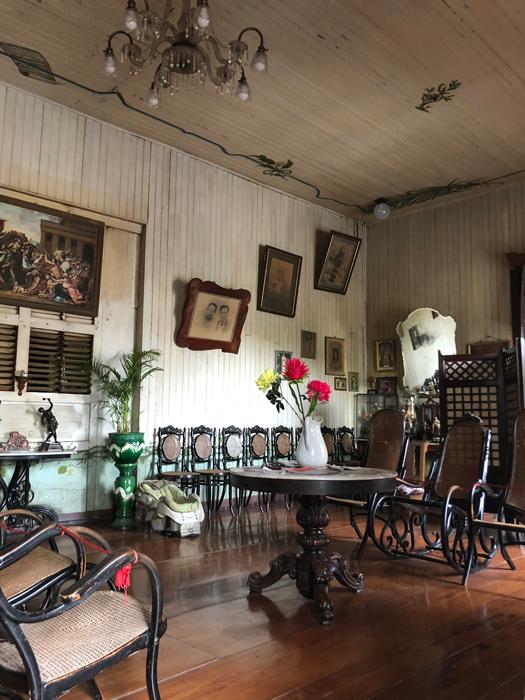 Inside the Quema House (Photo by Criselda Yabes)
