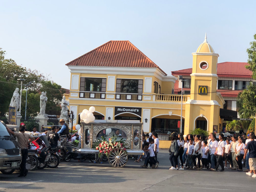 Mc Donald's by the cathedral (Photo by Criselda Yabes)
