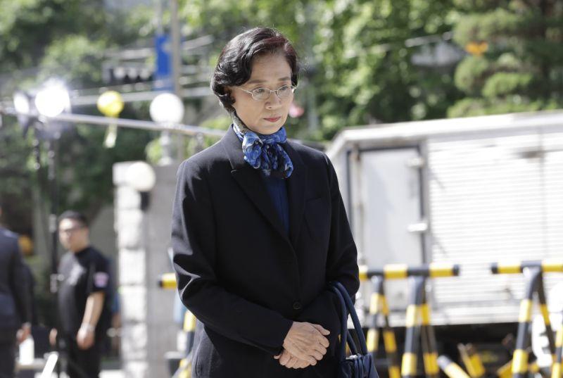 Lee Myung Hee, wife of Korean Air Chairman Cho Yang-ho