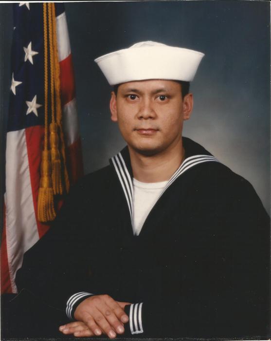 Derrick in the Navy
