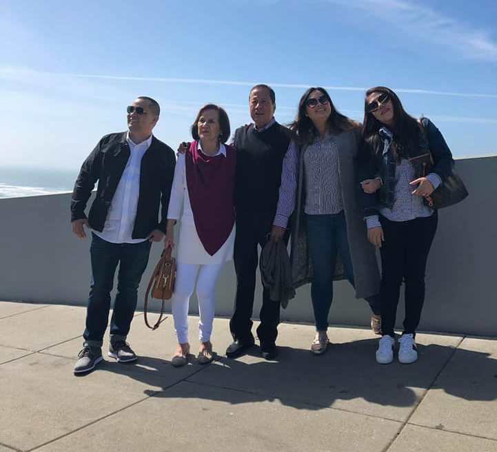 Derrick, Conchita Lopez Taylor, Ricardo Taylor, Ashira and Roda