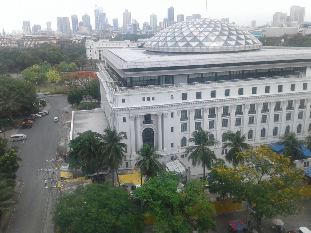 A panoramic view of the Museum of Natural History with its new dome in its central courtyard as designed by Architect Dom Galicia. (Photo by Virgilio Reyes, Jr.)