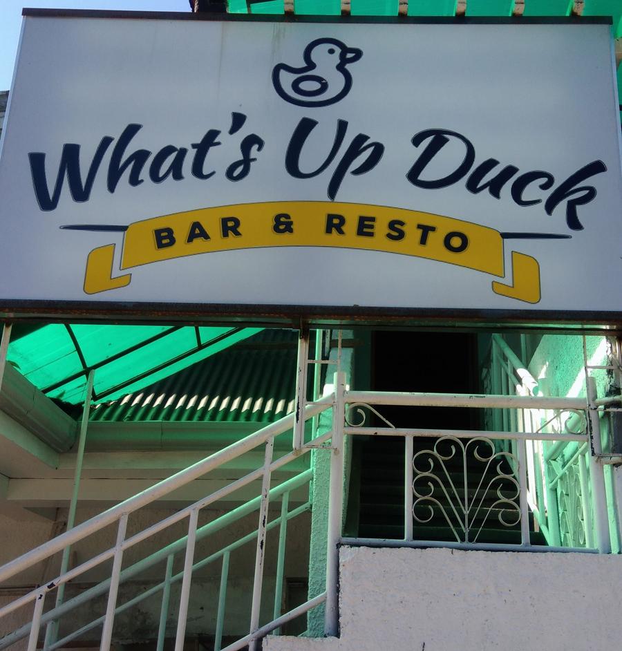 What's Up Duck? (Source: facebook.com/Jack Ealdama)