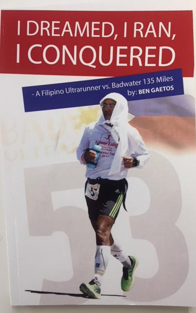 """Ben Gaetos' book """"I Dreamed, I Ran, I Conquered"""""""