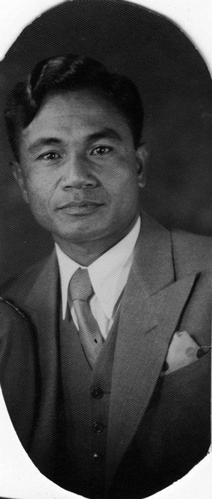 My grandfather, Felipe Bonifacio Rabaja, left Ballesteros for the U.S. in 1925. (Photo courtesy of David R. Rabaja)