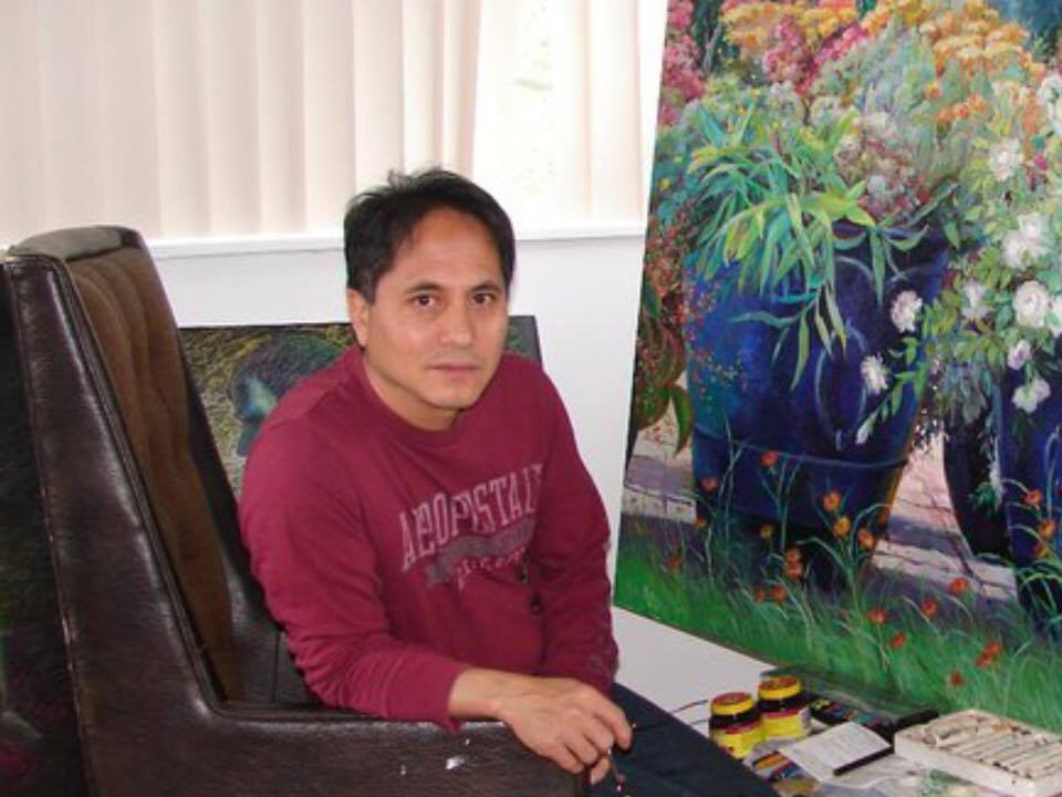 Artist Noel C. Trinidad