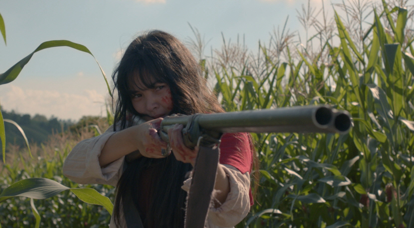 A still from Red's second feature,  Birdshot,  with a brilliant performance from young newcomer Mary Joy Apostle. (Photo courtesy of Mikhail Red)